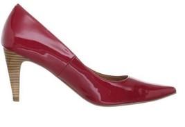 Women's Shoes Cole Haan AIR JULIANA PUMP 75 Classic Pumps Heels Patent Tango Red - $119.99