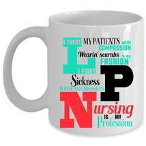 Cute Nurses Coffee Mug, Nursing Is My Profession Cup - $17.99