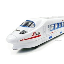 WolVol Bump & Go Action Electric ,Train Toy with Lights  and Music - $13.99