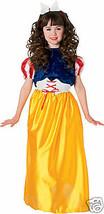 SNOW WHITE PRINCESS CHILD HALLOWEEN COSTUME SIZE MEDIUM 8-10 - $15.69