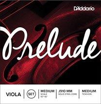 D'Addario Prelude Viola String Set, Medium Scale, Medium Tension - $22.76