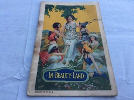 Old 1922 A.S. Hinds In Beauty Land Small Advertising Booklet Facial Creams - $9.90