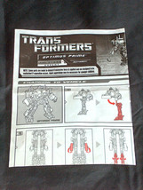 Hasbro Transformador Optimus Prime Robot Nivel 5 Autobot Instrucciones a... - $14.83