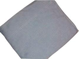 Ralph Lauren Twin Flat Sheet Chambray Blue Vintage Navy Blue RL Tag EUC - $27.69