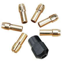 Mini Drill Chucks 7Pcs 1.0 3.2mm Fit For Micro Twist Electronic Dremel Drill Col - $1.42