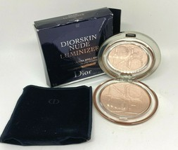 Dior Diorskin Nude Luminizer Shimmering Glow Powder Highlighter 02 Pink ... - $37.83