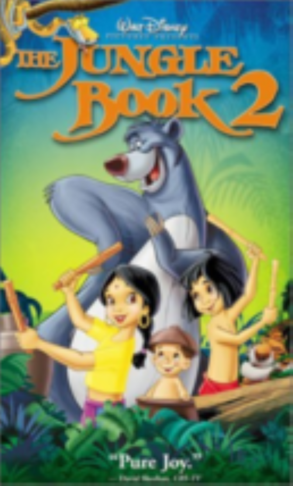 The Jungle Book 2 Vhs