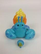 Xia Xia Electronic Pet Hermit Crab Blue w/ Yellow Shell & Shell Friend C... - $15.10