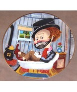 """Red Skelton """"FREDDIE IN THE BATHTUB"""" L/E Plate Dish Plate Hand Signed w ... - $595.00"""