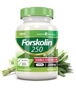 Forskolin 250 Double Strength 250mg 60 Weight Loss Capsules 60 Capsules - $51.99