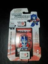 Hasbro Transformers Figurine & 3D Puzzle Piece Collector Cards Optimus P... - $9.85