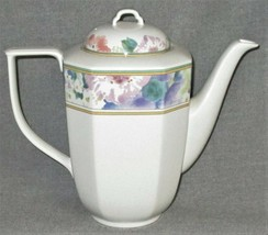 Mikasa Gallery Country Chintz Pattern Five Cup Coffee Pot Made In Japan - $39.59