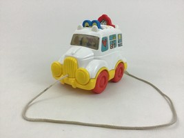 Disney Mickey Mouse and Friends Pull Along Pop Up Toddler Toy Van Bus Vi... - $26.68