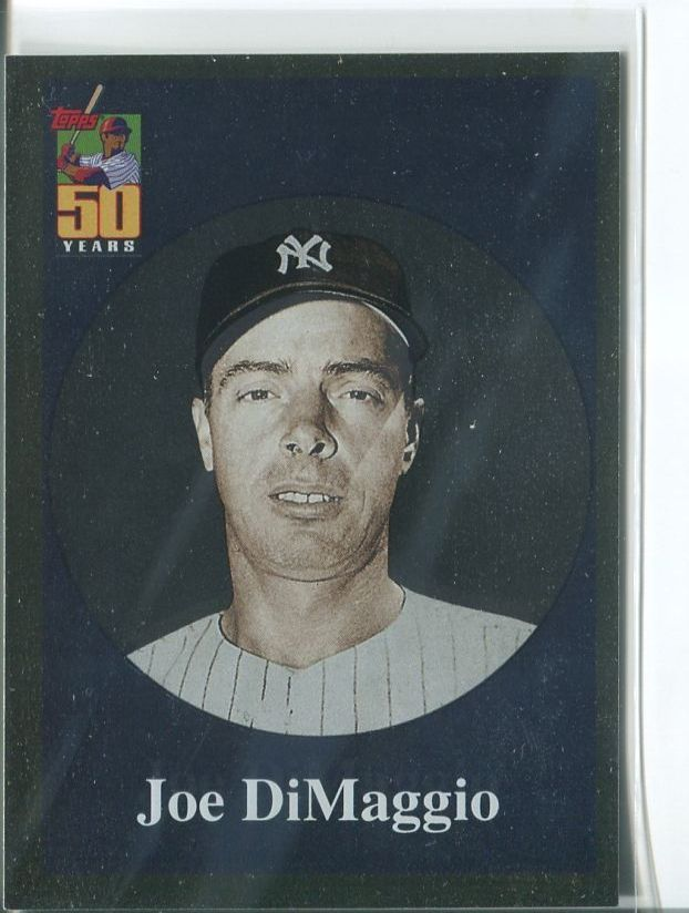 JOE DIMAGGIO 2001 Topps Chrome Before There Was Topps #BT10 Yankees