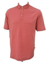 Tommy Bahama 'Extrafecta' Stripe Modal Cotton Golf Polo Shirt, Cactus Flower, M - $49.75