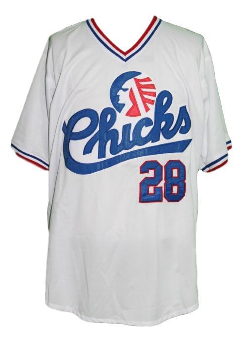 Bo jackson  28 memphis chicks baseball jersey white  1