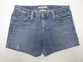Tommy Hilfiger Low Rise Distressed Denim Shorts- Size 8 - $19.99