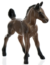 Hagen-Renaker Miniature Ceramic Horse Figurine Wild Mustang Colt Bay image 13