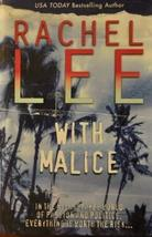 With Malice [Hardcover] Lee Rachel