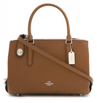 NWT Genuine COACH Brooklyn 28 Carryall Satchel Bag Saddle MSRP $398 - ₹14,210.73 INR