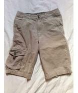New Khaki Light Brown GUESS Jeans Boys Shorts sz 12 - $23.20
