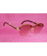 Fashion Sunglasses Men Luxury Brand Designer Carter Glasses Frame Wooden... - $240.00