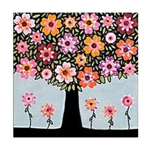 Contemporary Sitting Room Adornment Picture-Happy Tree