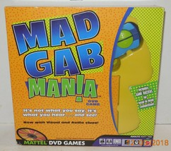 Mad Gab Mania DVD Game by Mattel 100% Complete - $10.63