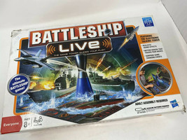 BattleShip Live Electronic Board Game W/ Sound & Motion Complete & Excellent - $34.65