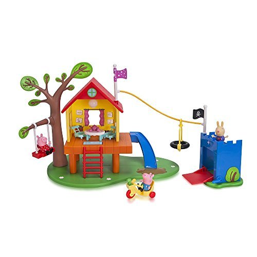 Primary image for Nick Jr. Peppa Pigs Treehouse and Georges Fort Playset