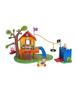 Nick Jr. Peppa Pigs Treehouse and Georges Fort Playset - $82.96