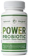 Power Probiotic Extra Strength Probiotics for Men and Women, 60 ct 15 Billion Pr