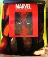 "Marvel Comics Deadpool Mask 46"" X 60"" Throw Blanket - $28.99"