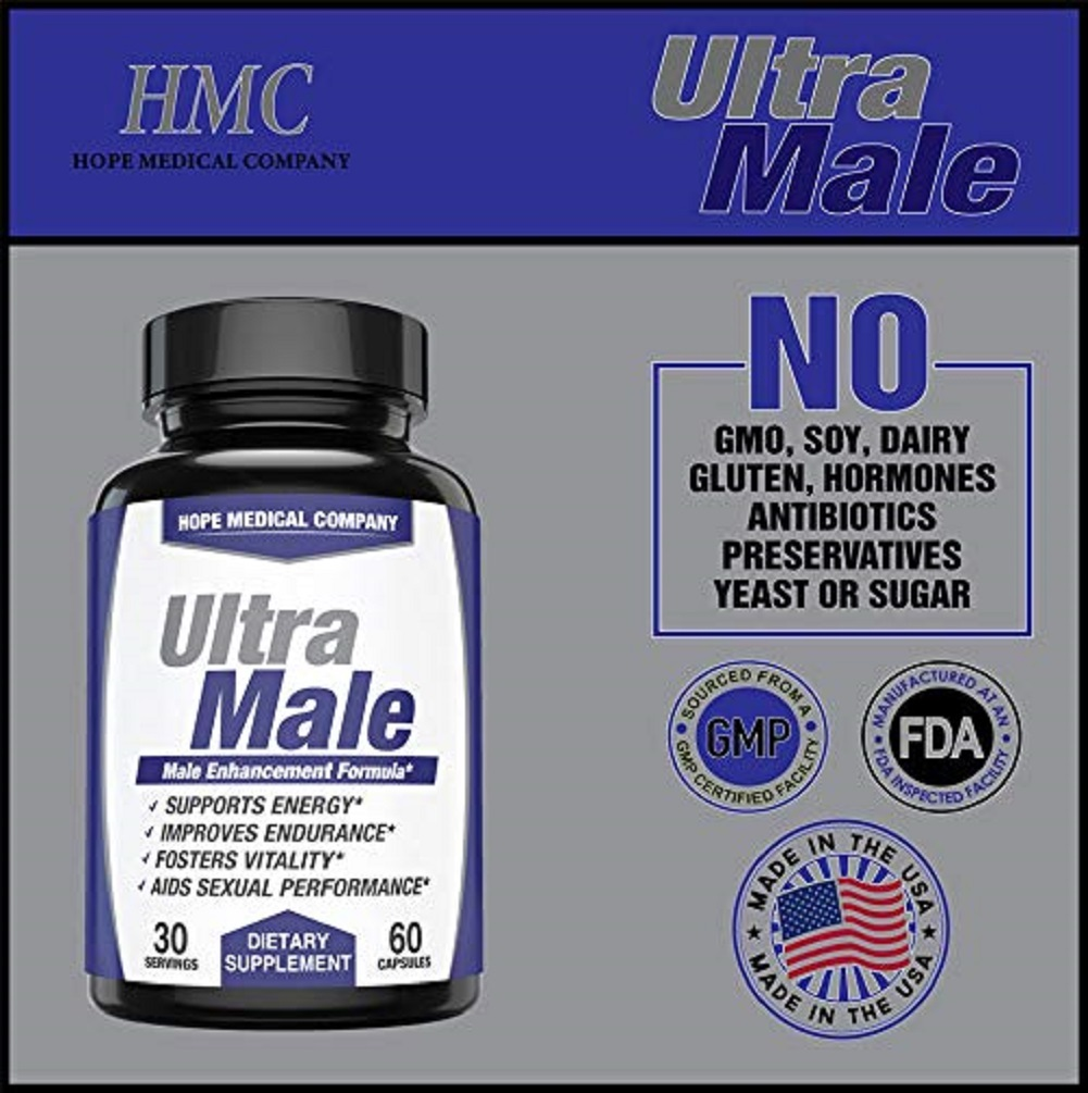 Best Fast-Acting Ultra Male Enhancing Booster Increase Size Drive Stamina