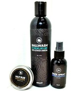 Ballsy - THE SACK PACK:  Mens BallWash, Sack Spray & Nut Rub Solid Cologne  - $39.89