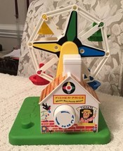 Fisher Price Musical Ferris Wheel Toy - Little People Not Included, 2077 - $7.60