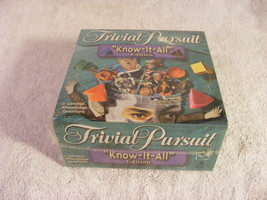 Trivial Pursuit Know-It-All Edition from Hasbro/Horn Abbot (2000) BRAND ... - $32.36