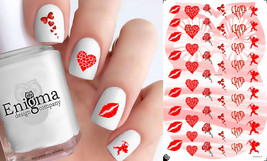 Valentine's Day Nail Decals - Vol I (Set of 54) - $4.95
