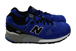 NEW BALANCE Men's 999 Blue Durable Sporty Fashion Sneaker Size 10.5 MADE... - $102.84