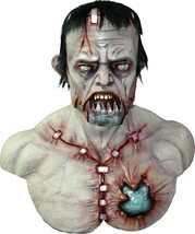 Frankenstein Mega Franky Deluxe Adult Overhead Halloween Mask New - £86.75 GBP