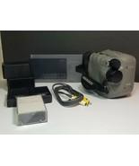 GE Images Rare VHSC Video Camera Recorder / Camcorder Bundle! No Charger! - $48.88