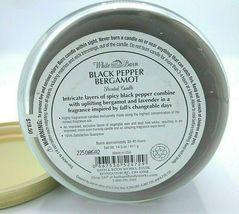 Bath & Body Works 14.5 oz 3-wick Candle lavender Black Pepper Bergamot image 5