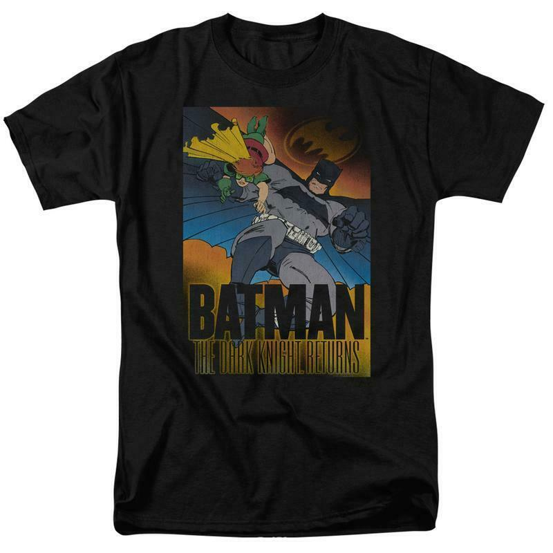 Batman DC Comics The Dark Knight Returns DC Multiverse Retro Cotton tee BM2216