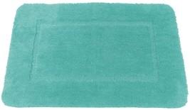 SOFT SEAFOAM GREEN CASHMERE-FEEL CHENILLE ANTI-SLIP BATH MAT RUG 50 X 80CM - $13.73