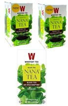 Wissotzky Black Tea with Spiced Nana Mint, KP - 3/20 tea bags - $18.55