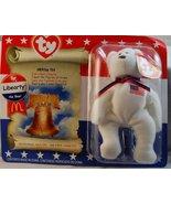 TY McDonald's Teenie Beanie - LIBEARTY the Bear (2000) - $742.50