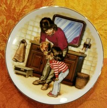 "Tom Newsom A New Tooth Mother's Day '96 Special Memories 5"" Plate 22KT G... - $20.00"