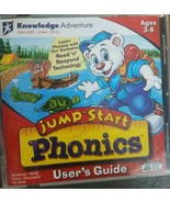 1999 JumpStart Phonics CD Rom Educational Software Computer Game, Ages 3-6 - $5.99