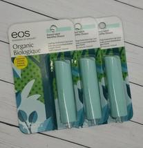 EOS Organic Lasting Hydration Lip Care 100% Natural Sweet Mint .14 oz - ... - $12.86