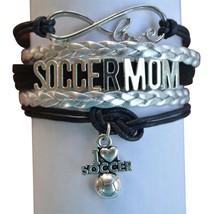 Soccer Mom Bracelet, Soccer Moms Jewelry, Perfect Soccer Mom Gifts - $9.99